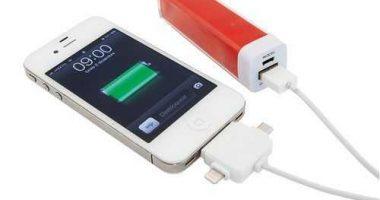 Power bank para recarga de dispositivos móviles
