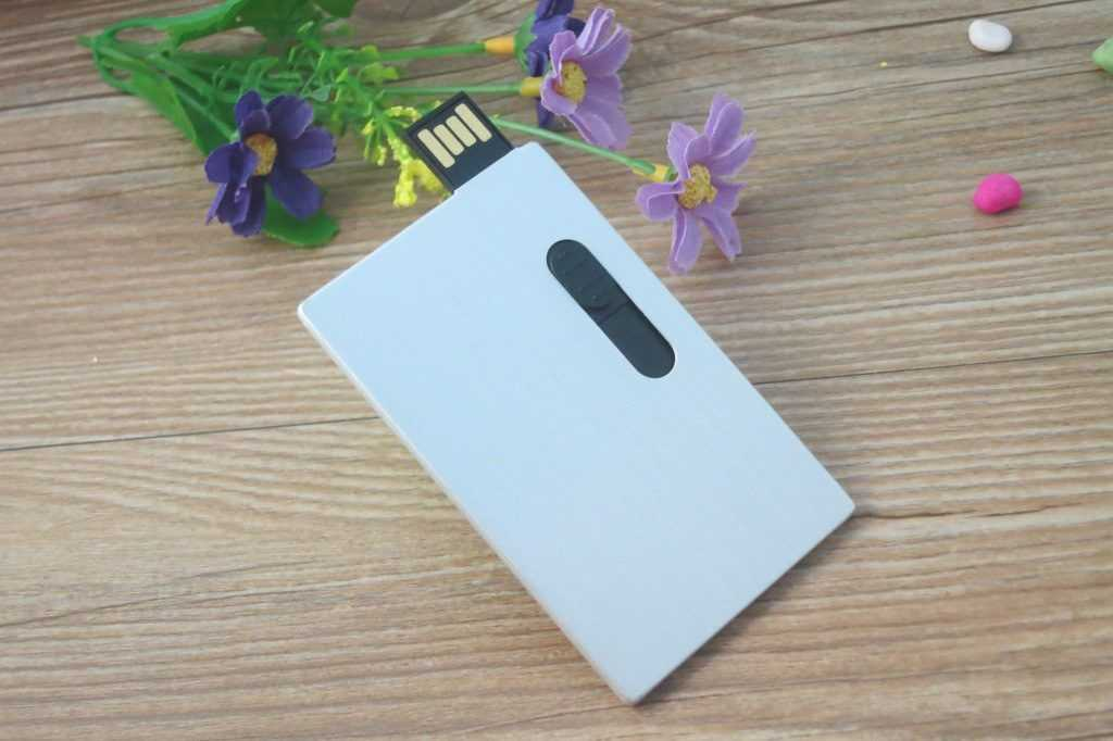Pendrive personalizado tarjeta USB metal