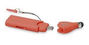 Memoria USB OTG con puntero tactil