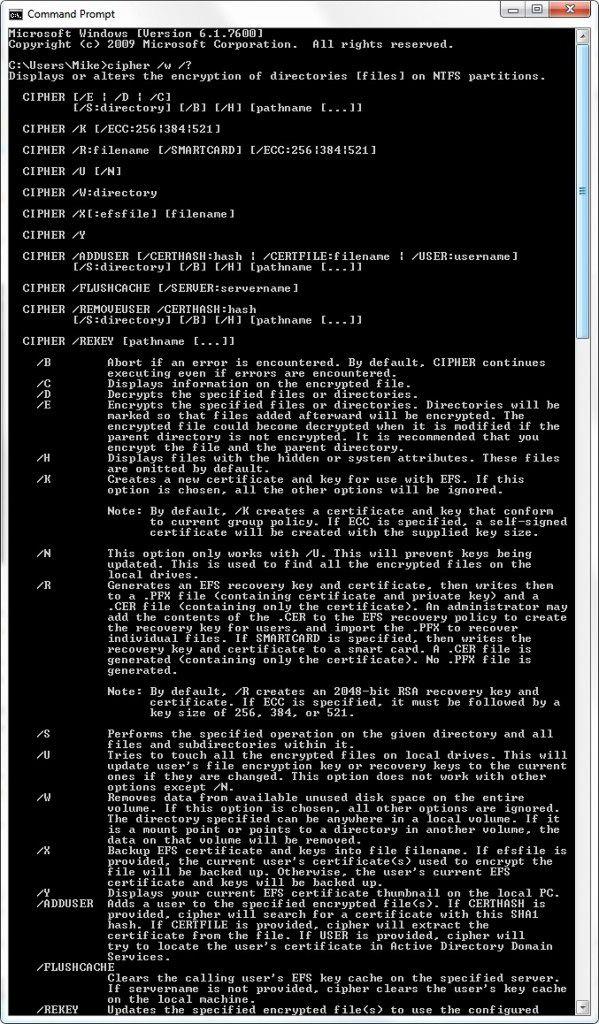 cipher borrado datos pendrive