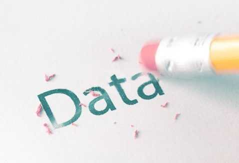 Borrado datos