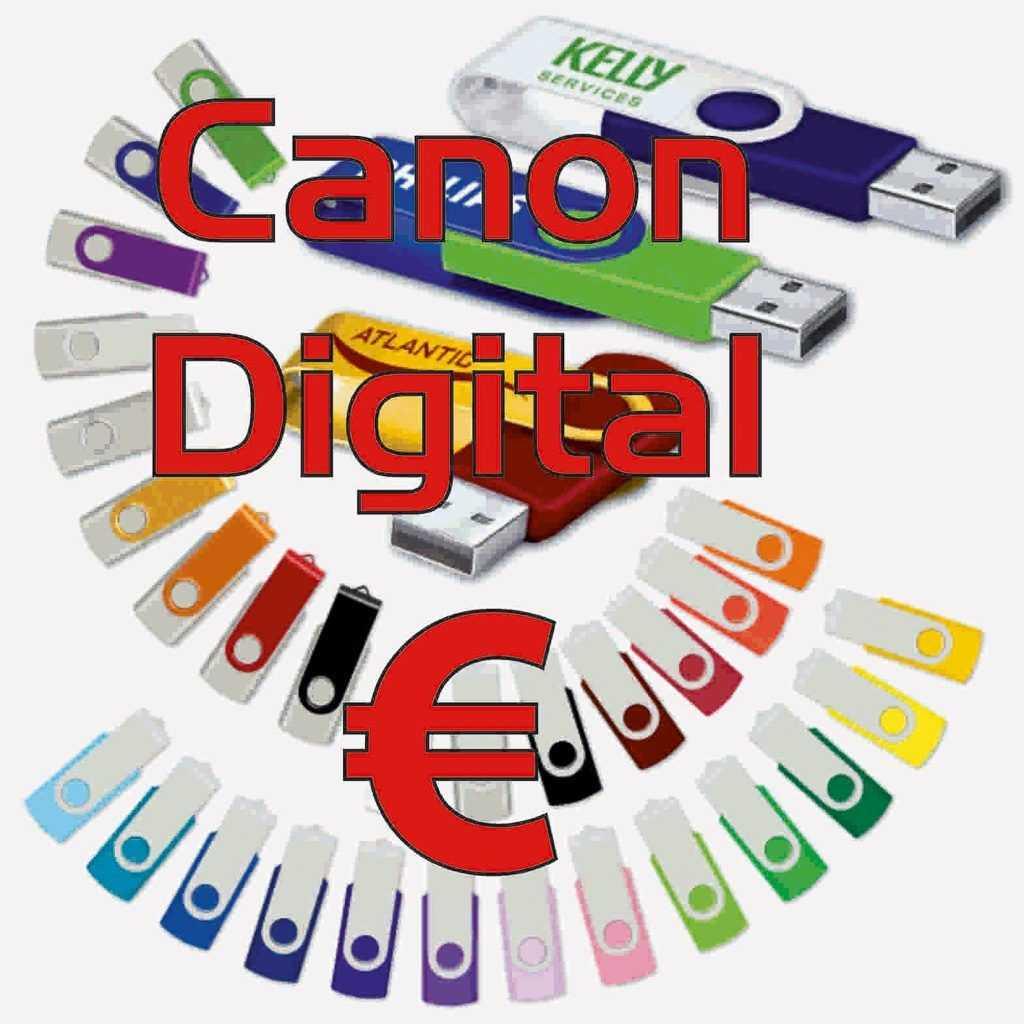 Canon digital de 2.008