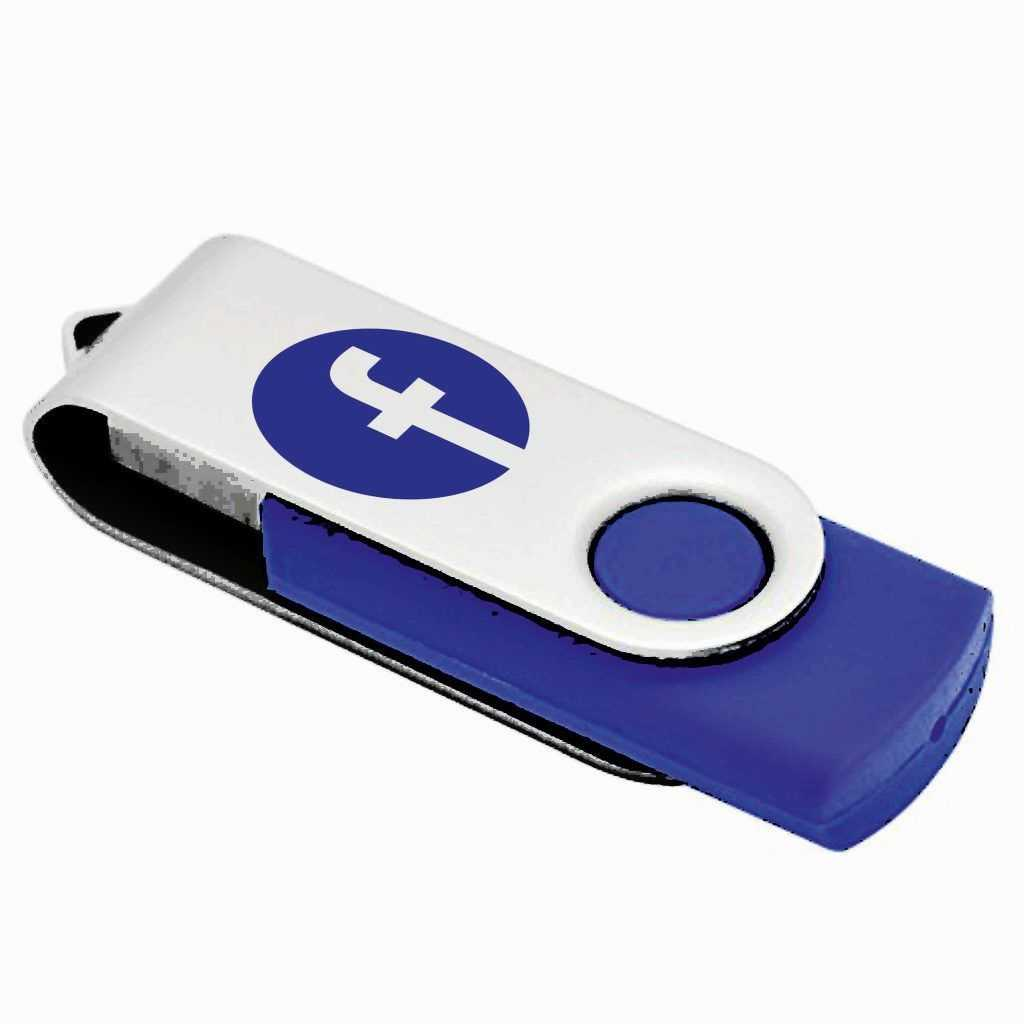 Memoria USB logo Facebook