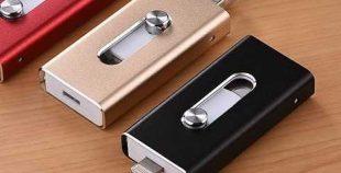 Pendrive memoria USB iPhone Lightning