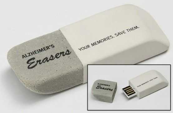 Pendrives personalizados Alzheimer