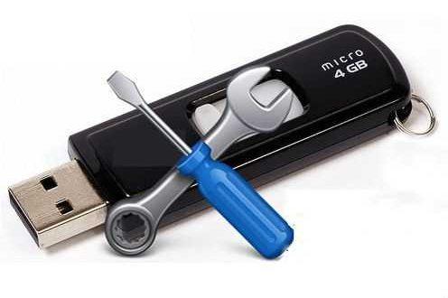 Reparación de pendrives (memorias USB)