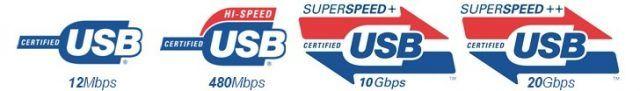 Nueva certificación USB 3.2
