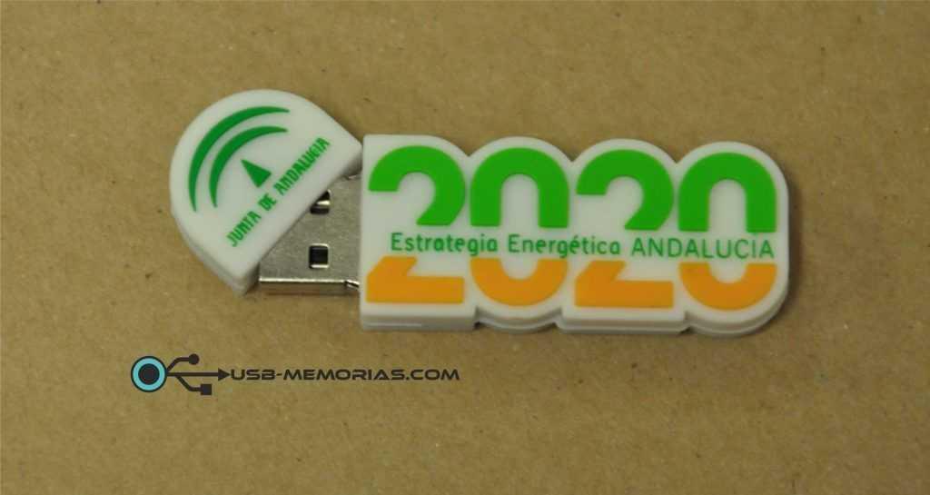 Pendrive USB forma 2D Junta Andalucía
