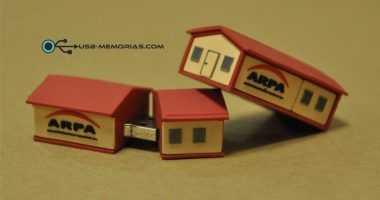 Pendrive USB forma 3D casa