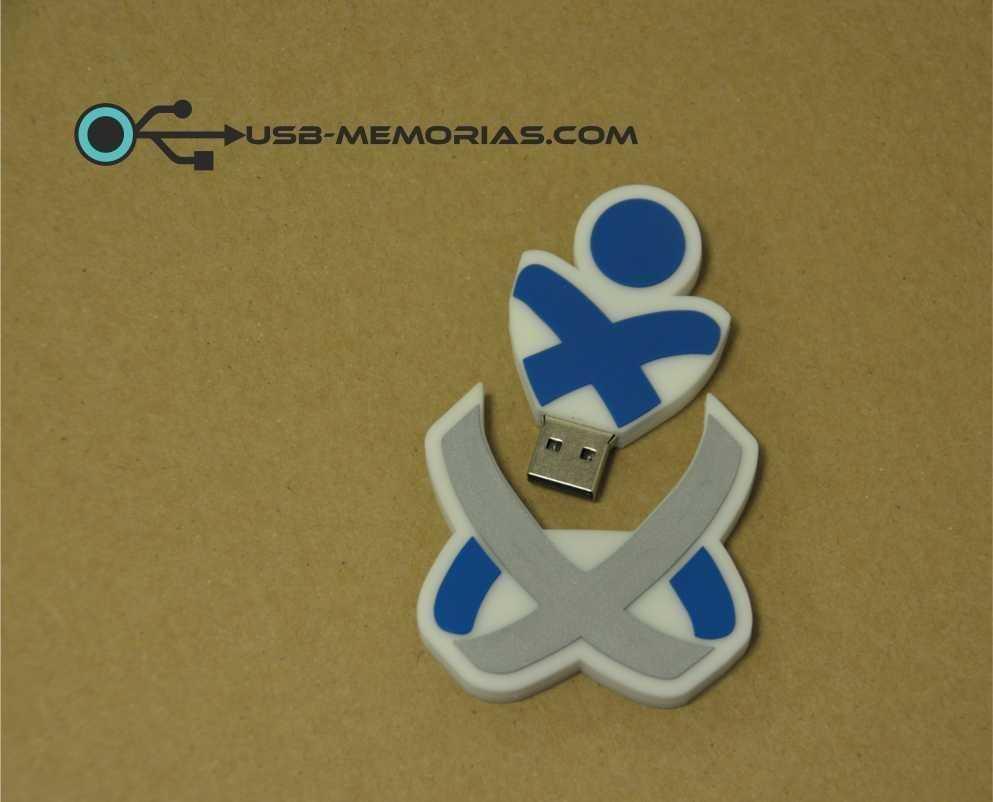 Pendrive USB forma 2D