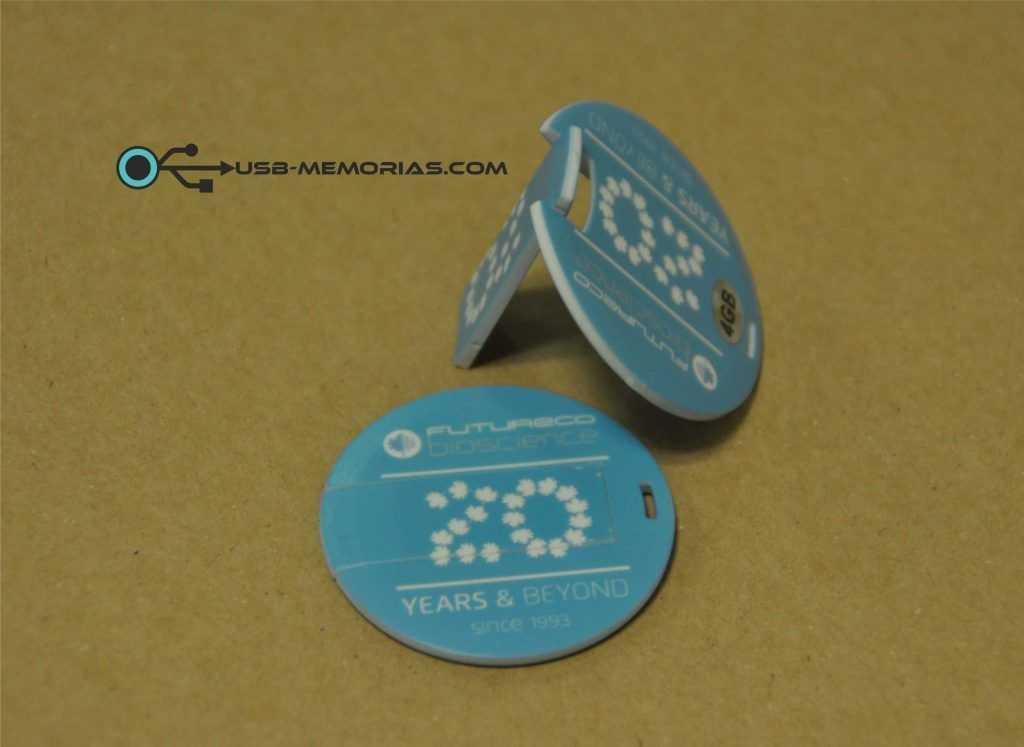 Tarjeta USB circular