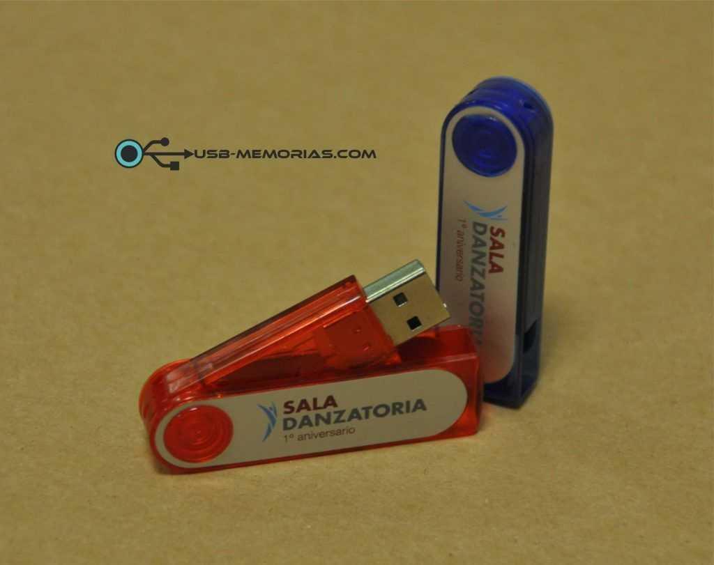 Memoria USB giratoria