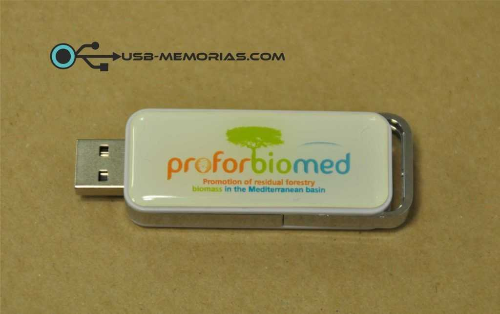 Pendrive USB retráctil