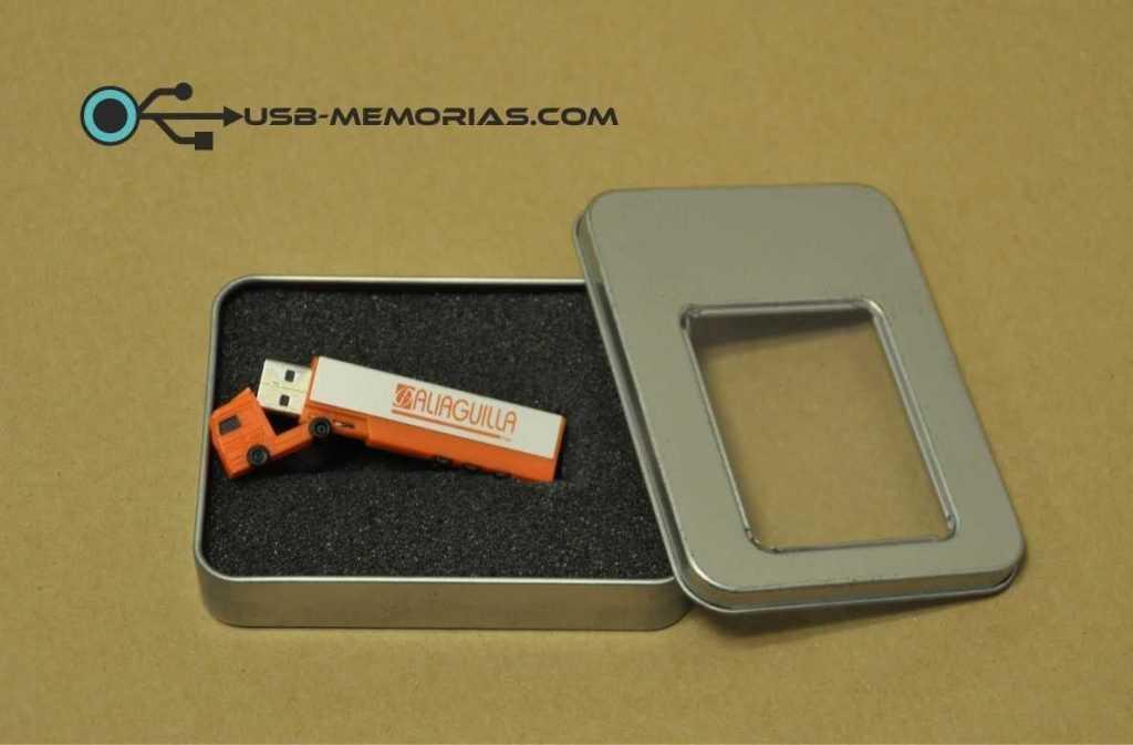 Memoria USB trailer en estuche P11