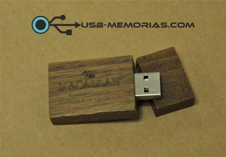 Memoria USB eco madera
