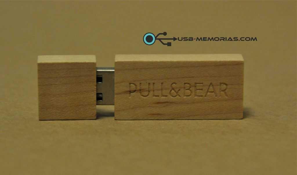 Memoria USB eco madera Pull&Bear