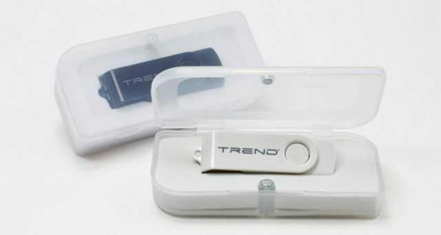Estuche PVC para pendrives USB