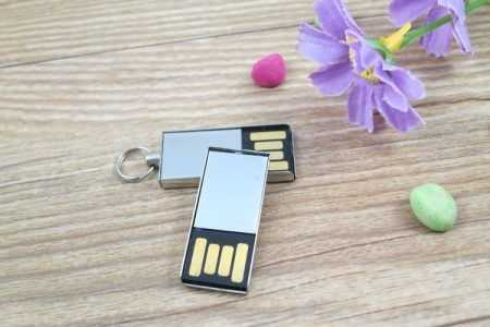 Memoria USB metalica mini pendrive