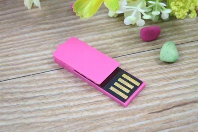Memoria USB pendrive clip PVC