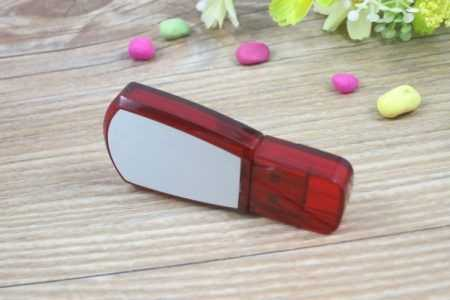 Memoria USB trapezoidal bicolor