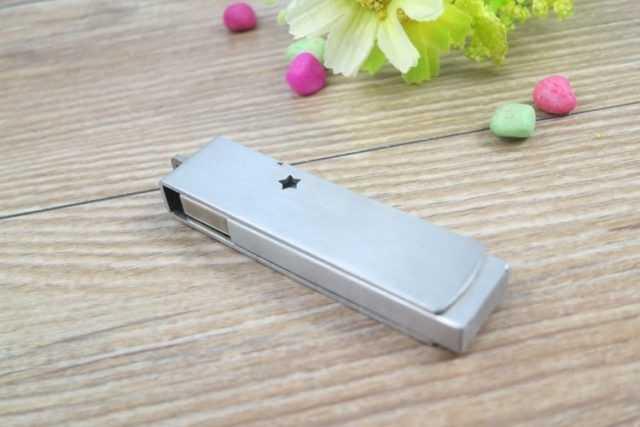 Pendrive metal memoria USB giratoria