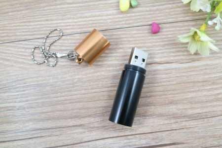 Pendrive formato memoria USB pila alcalina