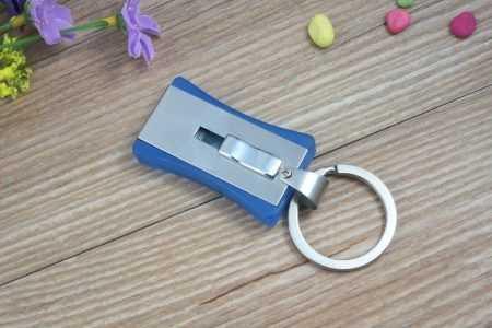 Pendrive USB extraible llavero metal
