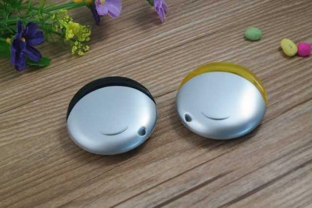Memoria USB circular bicolor