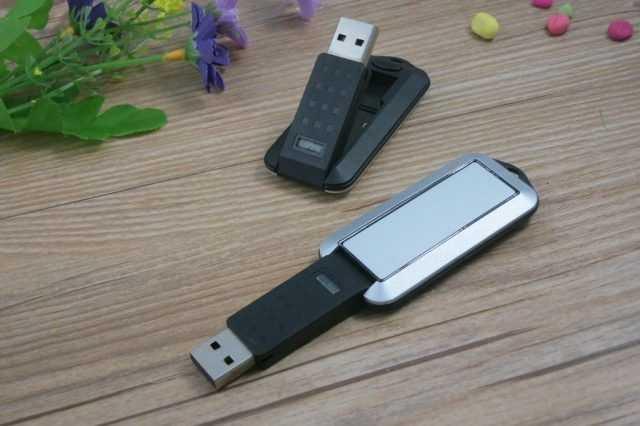 Memoria USB giratoria plana