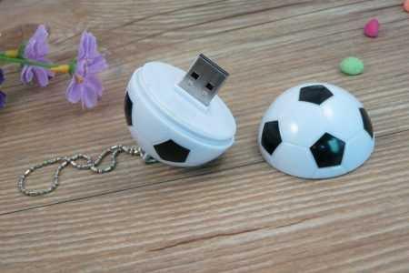 Pendrive USB pelota futbol