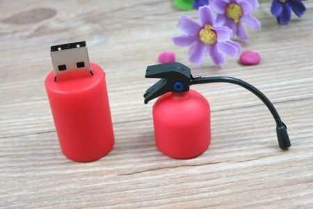Memoria pendrive extintor USB