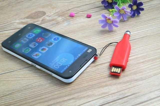 Pendrive memoria USB puntero tactil