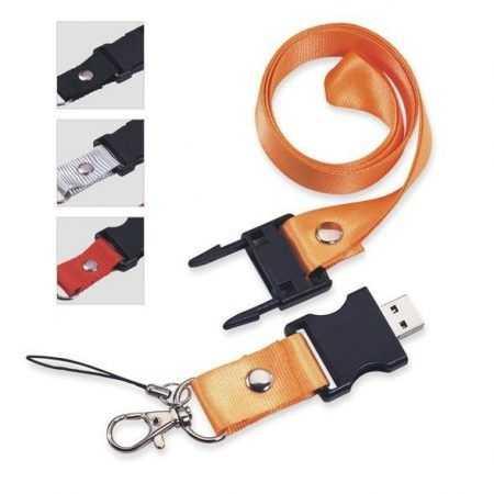 Memoria USB pendrive lanyard