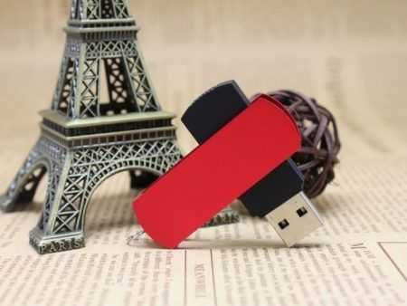 Pendrive USB giratorio