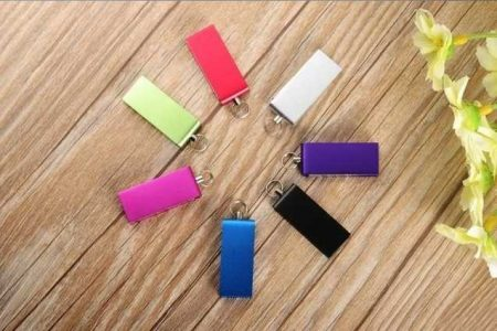 Memoria pendrive USB mini giratoria