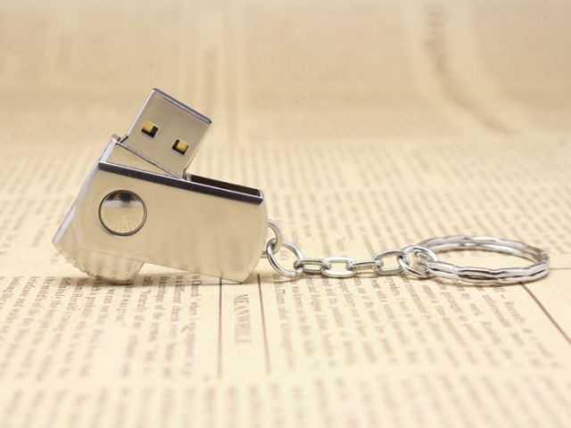 Pendrive memoria USB mini metalica