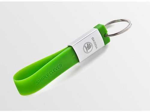 Pendrive USB llavero silicona metal