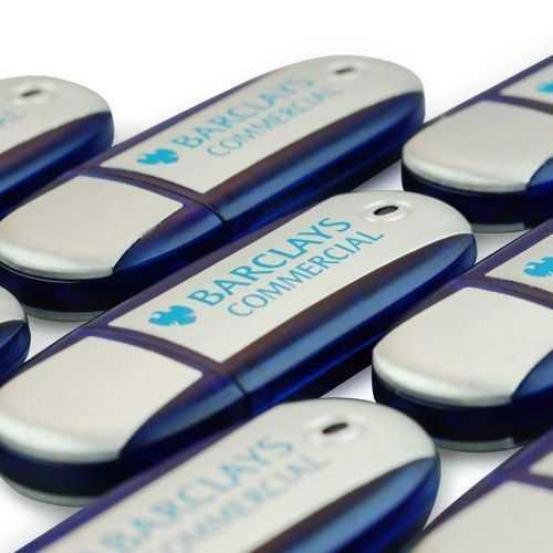 Memoria USB oval clasica