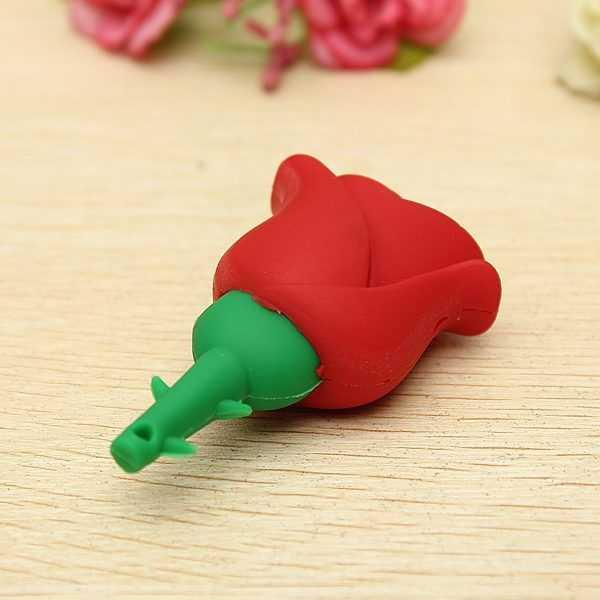 Pendrive USB rosa flor