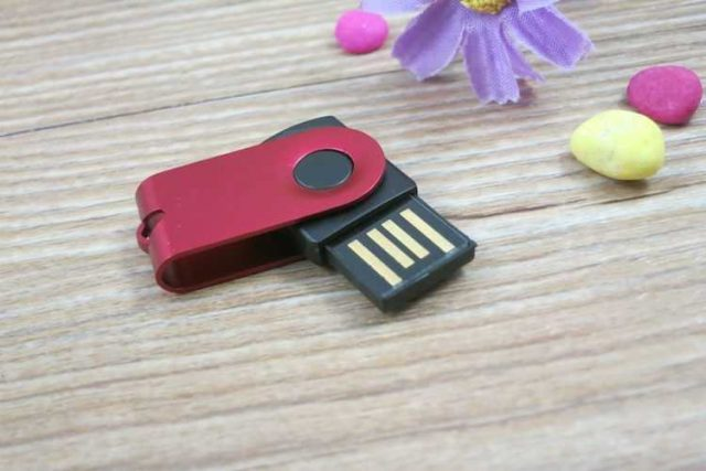 Pendrive memoria USB giratoria mini