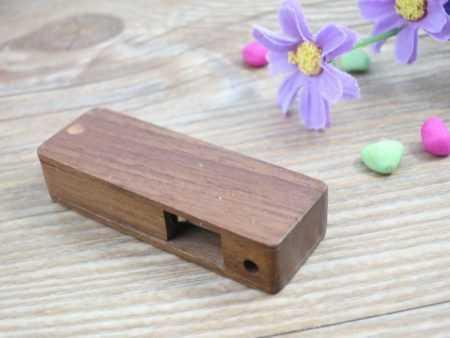 Pendrive memoria USB ecologico madera giratoria