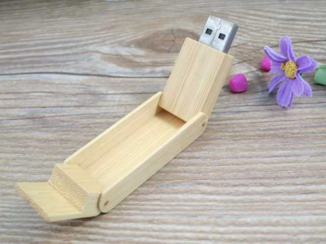 Pendrive madera memoria USB ecologica
