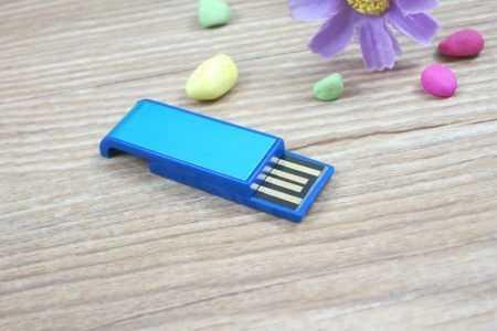 Memoria USB mini pendrive deslizante