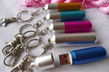 Pendrive memoria USB obus metalico