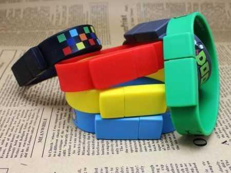 Pendrive pulsera memoria USB silicona