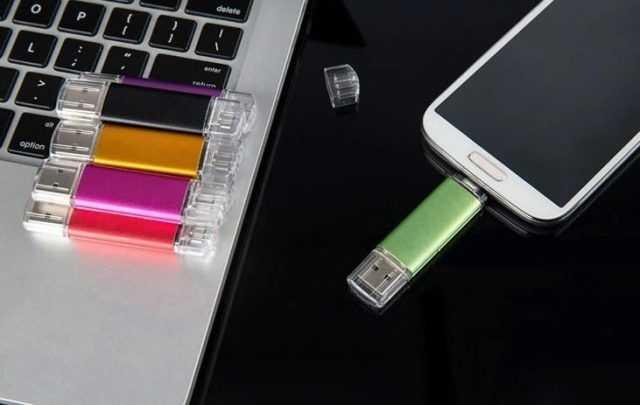 Pendrive USB con MicroUSB