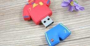 Memorias usb con formas 3D