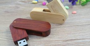 Memorias USB Madera