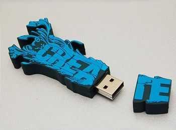 USB 2D logotipo