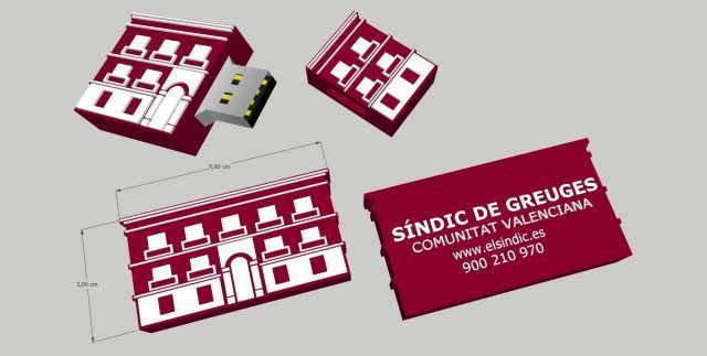 Desarrollo USB 2D Sindic